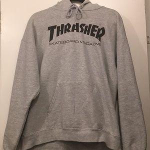 Grey Thrasher Hoodie